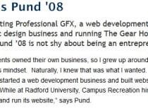 Radford University Alumni Profile
